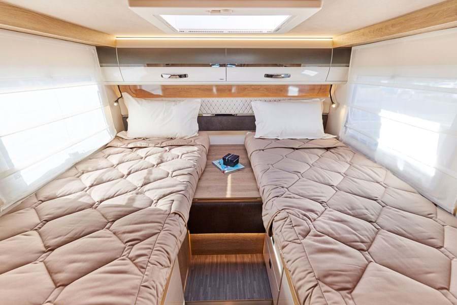 Mobilvetta Kea I86 magamistuba